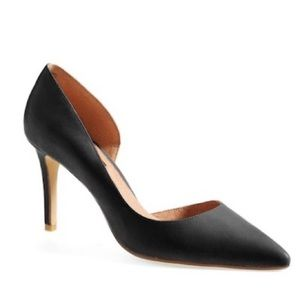 Halogen Marlie Pointy Toe Leather Pumps NEW